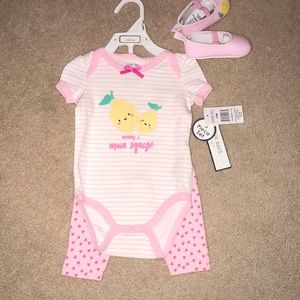 NWT 3-6 mos 3 Piece set